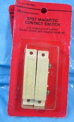 2 Pair Radio Shack Spst 49-495 Alarm Ademco Magnetic Contact Switch Door Window