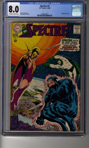 Spectre! # 3 - CGC 8.0 OW/White Pages -  Wildcat Appearance
