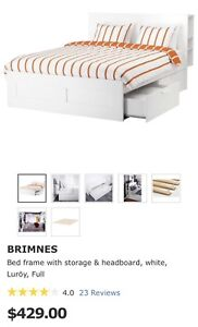 IKEA Brimnes Bed Frame (Double/Full)