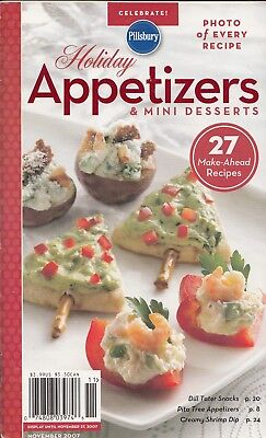 HOLIDAY APPETIZERS & MINI DESSERTS PILLSBURY CLASSIC COOKBOOK #319 2007 - Mini Appetizers