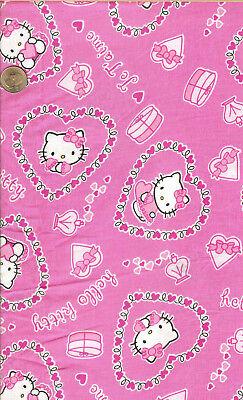 Hello Kitty Valentine (RARE! HELLO KITTY VALENTINE ON PINK - SANRIO - REL. 2004- BTFQ -)