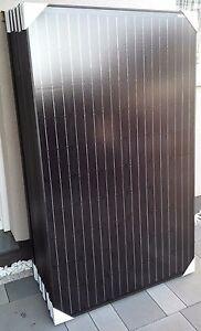 260 Watt Solarmodul Solarpanel PV Modul Monokristallin schwarz – NEU