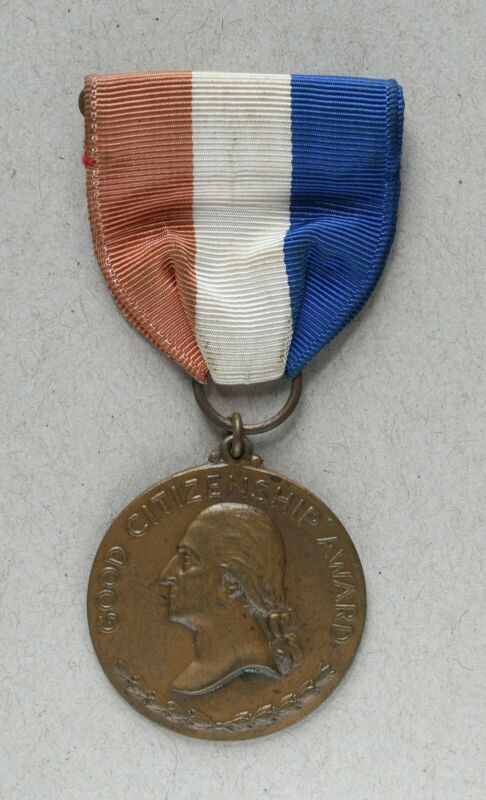 Daughters of the American Revolution (D.A.R.) Good Citizenship Award Medal