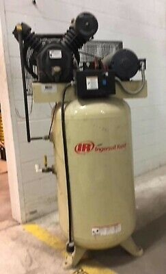 Ingersoll-rand Model 2475 7.5hp With 80 Gallon Tank Air Compressor