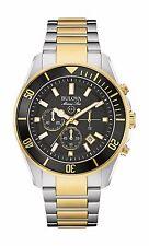Bulova Marine Star Men's Refurbished 98B249 Chronograph Quartz Two Tone Watch