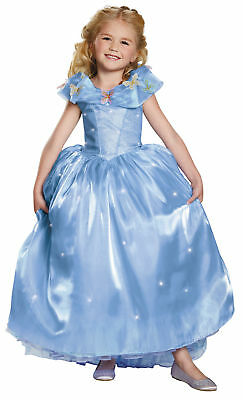 Cinderella Ultra Prestige Kinder Mädchen Kostüm Angepasst Mieder Verkleidung (Verkleidung Kostüm Cinderella)