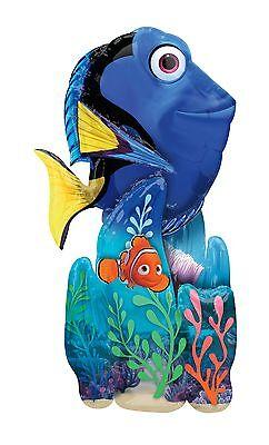 Nemo Ballons (Disney Finden Dory Nemo 139cm Riesiger Airwalker Ballon Dekoration 1-5pk Packung)