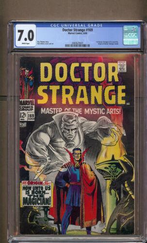 Doctor Strange # 169 CGC 7.0 WP 1st doc Strange in his own Title