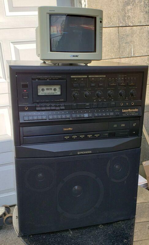 1989 Pioneer CLK-V900 Laserdisc Karaoke Cassette Deck System (shipping possible)