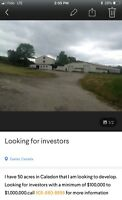 Looking for investors