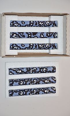 KOHLER NEW RARE ART Garden Bandana Decorative half-round tile (Decorative Half Round Tile)