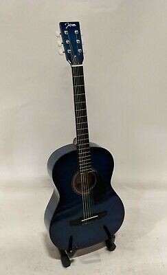 Johnson JG-100-BL Student Acoustic Guitar, Blue Johnson Acoustic Guitar