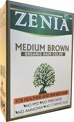 Zenia Organic Henna Hair Color/Dye Unisex 100% Chemical Free 100 grams