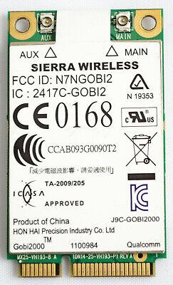 Sierra Wireless 3g Adapter (SIERRA WIRELESS Gobi2000 3G WWAN Adapter for Panasonic Toughbook CF-19 CF-31  )