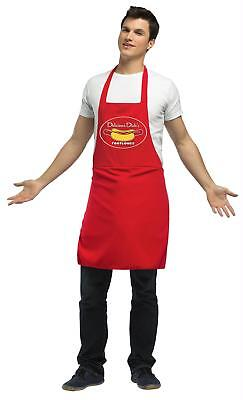 Funny Dirty Halloween Costumes (ADULT HUMOR DIRTY FOOTLONG HOT DOG VENDOR APRON FUNNY COSTUME)
