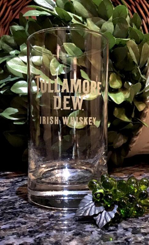 Limited Edition  TULLAMORE  D.E.W.  Irish Whiskey  1/2 Pint Glass  PRISTINE!