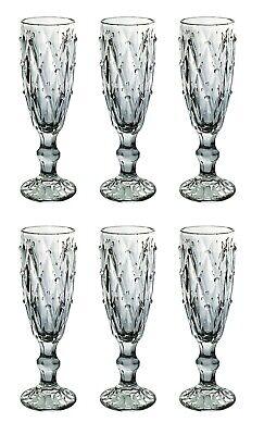 Champagne Vintage klar Glas Gläser Weingläser Sektglas Wasserglas Weinglas