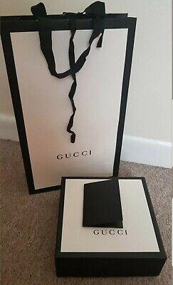 Gucci Belt No. 1 Gift Box And Carrier Bag Set 19/19/7.5cm