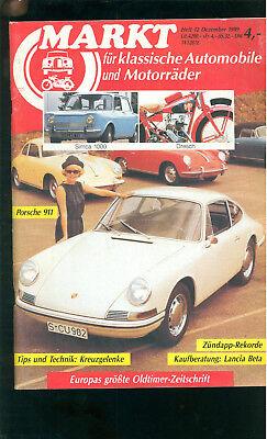 Markt Klassische Autos 1989 Kaufberatung Lancia Beta Porsche 911 Zündapp