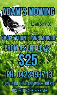 Mowing  edgeing  25  to  70  today  only  big and  small  jobs  a Broadview Port Adelaide Area Preview