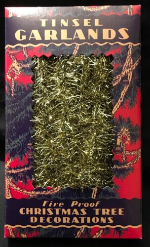 TINSEL GARLAND FOR CHRISTMAS TREE DECORATION - NINE FEET!