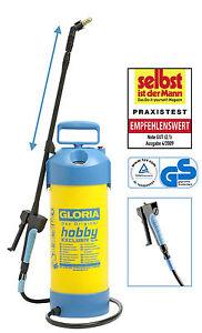 GLORIA HOBBY exclusiv  Drucksprühgerät Sprühgerät Spritze  5 L.
