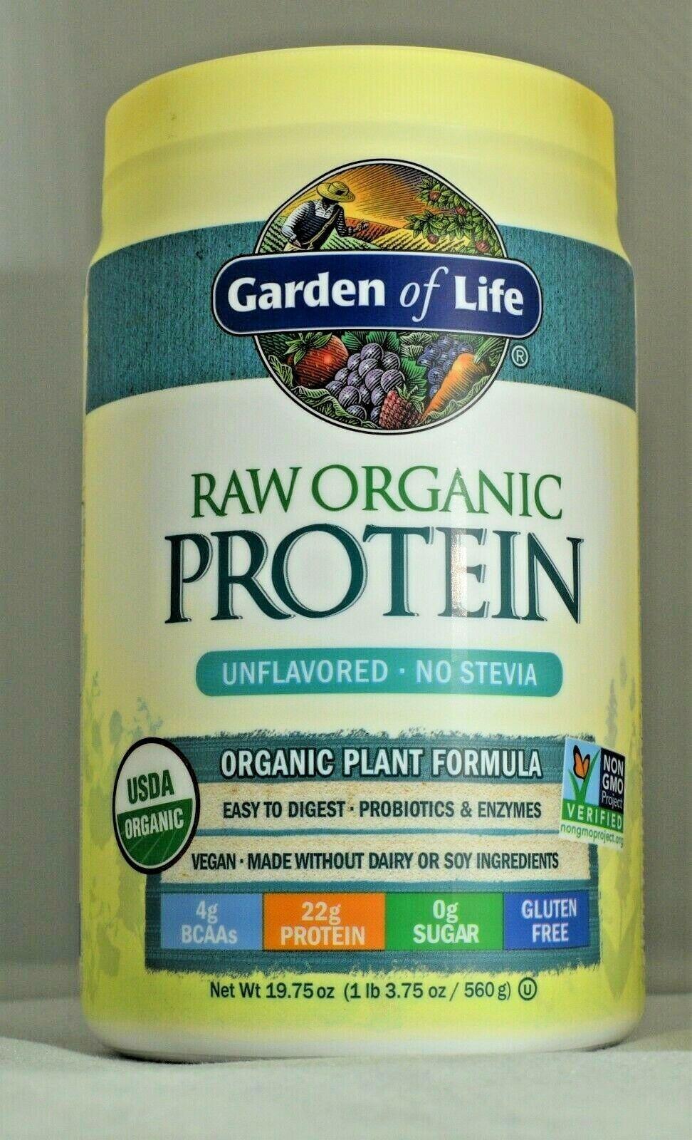 Garden of Life Organic Vegan Protein Powder with Vitamins an