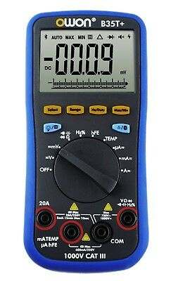 Owon B35t Datalogger True Rms Multimeter Bluetooth 4.0