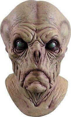 Halloween SPACE ALIEN PROBE ADULT LATEX DELUXE MASK COSTUME Haunted House - Alien Probe Mask