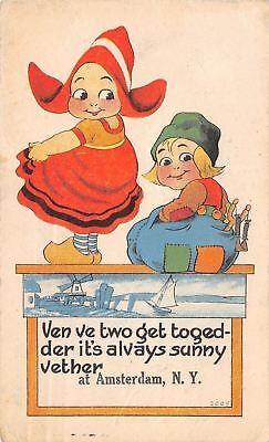Always Sunny Weather  At Amsterdam New York When We Two Are Together 1917 Pc