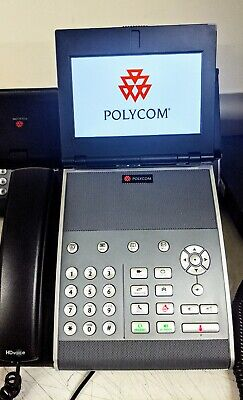Polycom Vvx 1500 Business Media Voip Phone With Chargers