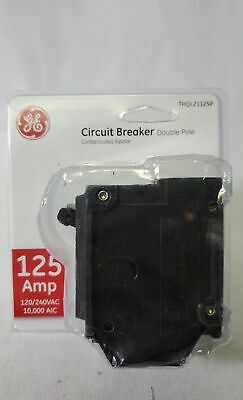 GE THQL21125P 125 Amp Double Pole Circuit Breaker