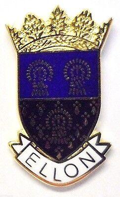 Ellon Aberdeenshire Escocia Pequeño Ciudad Crest Pin Insignia (0460)