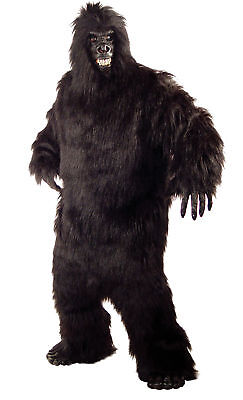 Gorilla King Kong Adult Mens Costume Ape Man Animal Safari Theme Party - Gorilla Party Animal Kostüm