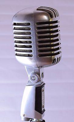 Vintage Shure Model 55S Vocal Microphone ELVIS!  Works Great](Elvis Microphone)