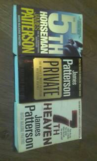 James Patterson books - group of 3