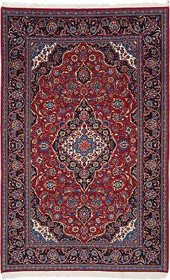 Kashan Roten Teppich (Kashan Teppich Orientteppich Rug Carpet Tapis Tapijt Tappeto Alfombra Klassisch)