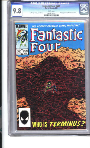 Fantastic Four #269 9.8 1st appearance of Terminus