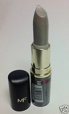 Max Factor Lasting Color Lipstick #1100 Silver Energy NEW.
