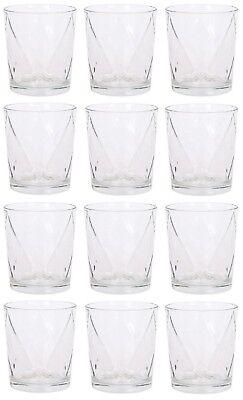12x Cocktail whisky water drinking glasses tumblers highball ALIAN karoh 360ml
