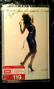 KYLIE-MINOGUE-CASSETTE-TAPE-FEVER-MADE-IN-ASIA-2001-STILL-SEALED-RARE