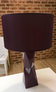 Purple lamp for sale