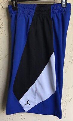 9d7692e86d95 AIR Jordan Jumpman Basketball Training Shorts ~ Blue White ~ Size  Men s M