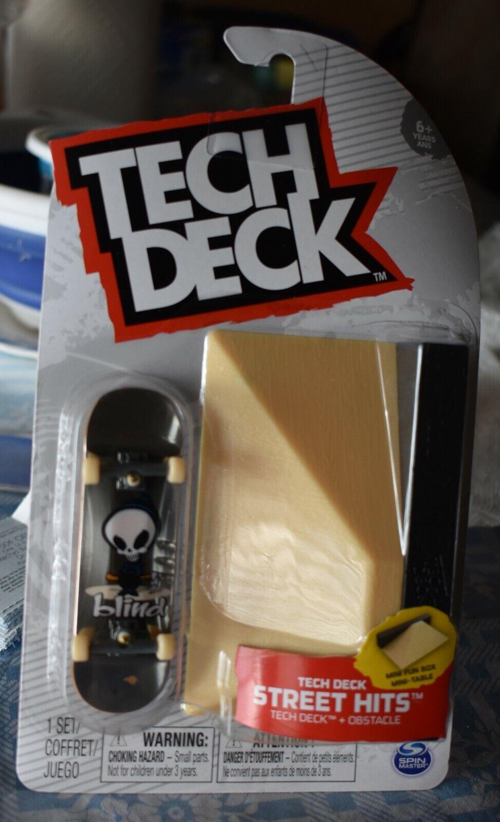 Tech Deck BLIND STREET HITS With MINI FUN BOX NEW