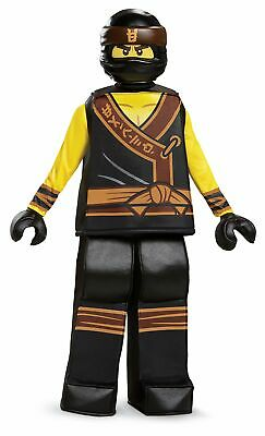 Disguise Lego Ninjago Movie Cole Prestige Kids Costume, Small 4-6 - Ninjago Costume Cole