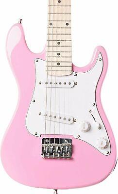 Eastcoast GK20 3/4 Electric Guitar, Pink