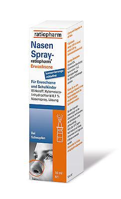 Nasenspray Ratiopharm Erwachsene 10 ml PZN 00999831 10ml katharinenapo