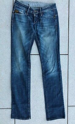 G-Star Jeans Damenjeans Hose Blau Größe 27/36 RN 104506 Mädchen Girl