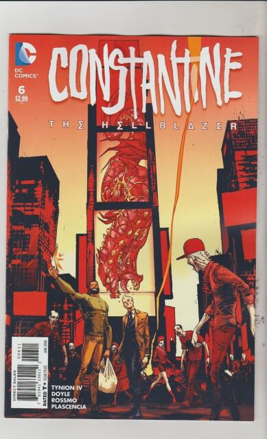 DC COMICS CONSTANTINE THE HELLBLAZER #6 JANUARY 2016 1ST PRINT NM