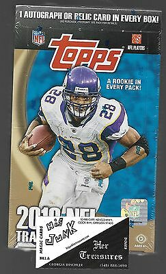 "2010 Topps NFL Factory Sealed HOBBY box ""Rookie in every Pack!"""